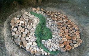 land-Art-yin-yan