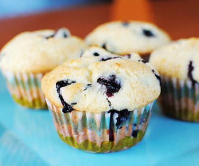 muffins-arandanos